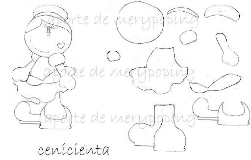 Dibujos De Fofuchas Planas Para Colorear