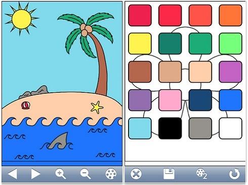 Coloring Book, Aplicación Para Colorear En Iphone