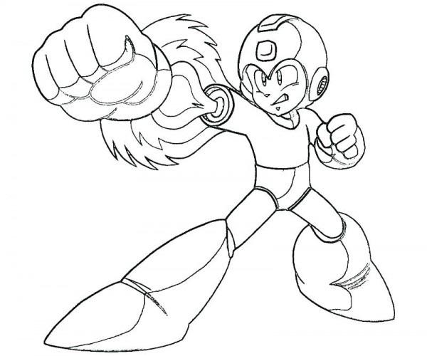 Dibujos Para Colorear De Megaman