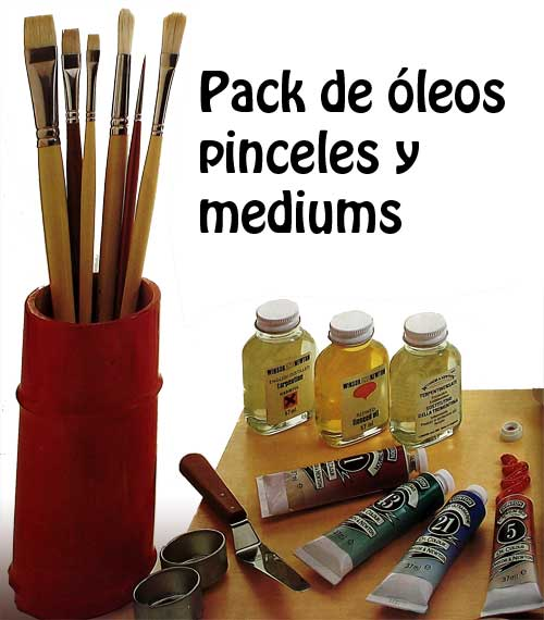 Pack De Pintura Para Empezar A Pintar Al óleo