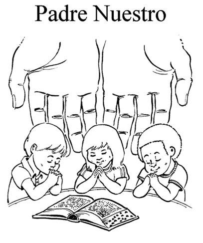Padre Nuestro, La Oración Del Señor Por Los Niños, En Español