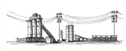 Dibujos De Fabricas Indrustiales