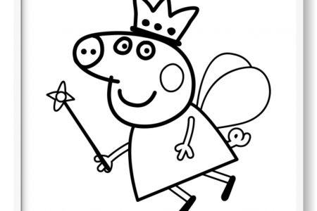 Peppa Pig Para Colorear + 120 Imágenes De Peppa Para Pintar!
