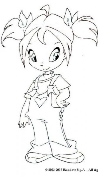 Dibujos Para Colorear Pixie Winx