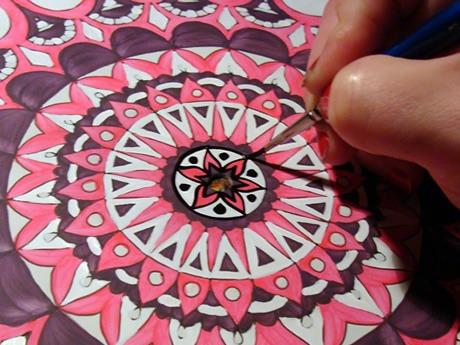 Pintar Un Mandala De Principio A Fin