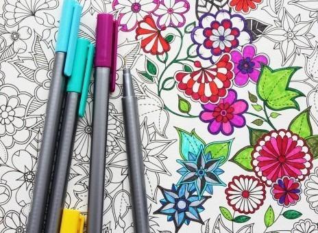 Lapices Para Colorear Mandalas