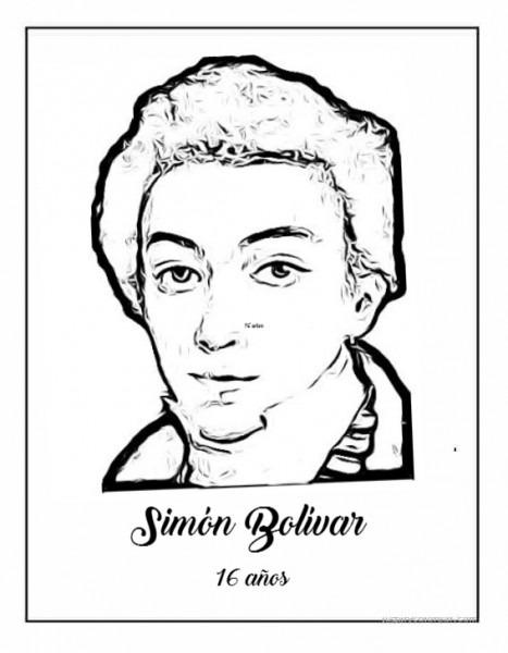 Dibujos De Simón Bolívar Para Colorear