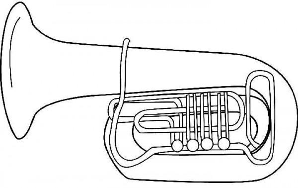 Listado De Instrumentos De Viento Para 【 Colorear 】