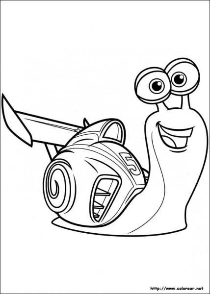 Dibujos Para Colorear De Turbo