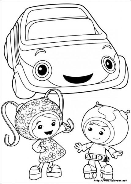 Dibujos Para Colorear De Umizoomi