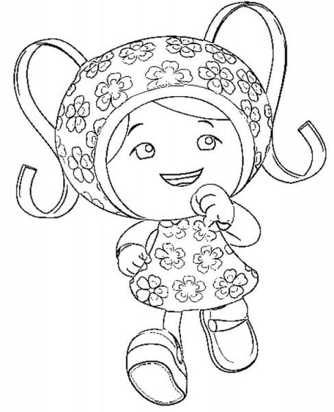 Dibujo Para Colorear Umizoomi 2