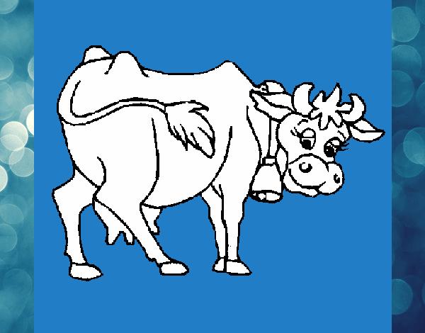 Dibujo De La Vaca Lola Pintado Por En Dibujos Net El Día 31