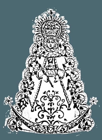 √ Dibujos Para Colorear De La Virgen Del Rocio