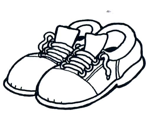 Colorear Zapatos Imprimir Zapatos Colorear E Para Imprimir Para E