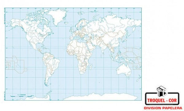 Mapa Político Nº5 Planisferio