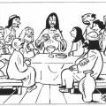 Dibujos Sobre Semana Santa Para Colorear