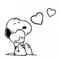 Imagenes De Snoopy Para Colorear
