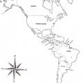 Mapa De Los Continentes Para Colorear Con Nombres