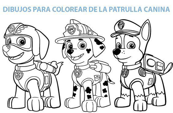 Resultado De Imagen Para Patrulla Canina Para Colorear En 2019