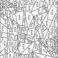 Dibujos Para Colorear Con Tablas De Multiplicar