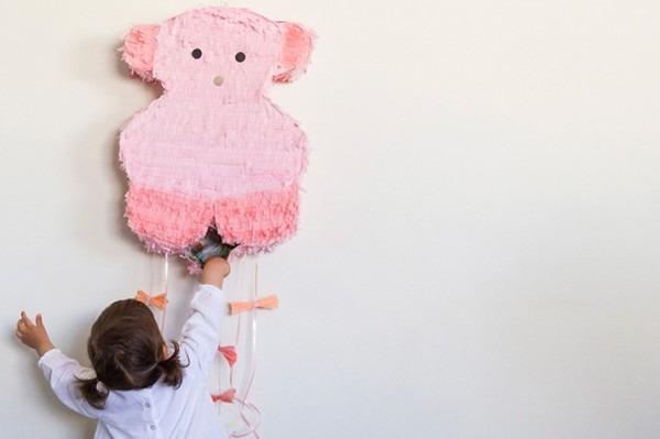 Diy Piñata De Cartón Osito Tous Baby