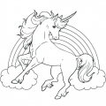 Dibujos De Unicornios Para Colorear E Imprimir