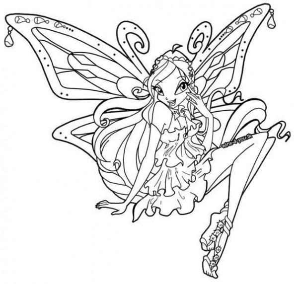 Winx Club Magic Para Colorear  Imagenes Enchantix