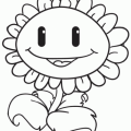 Dibujos Para Colorear Plantas Vs Zombies
