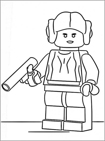 Lego Star Wars Coloring 13