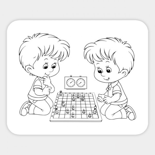 Limited Edition  Exclusive Chess Coloring Book    Dibujo Ajedrez