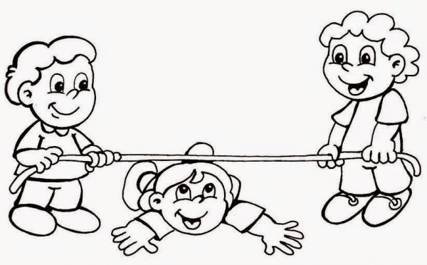 Kids Zone  Psicomotricidad  Dibujos Para Colorear