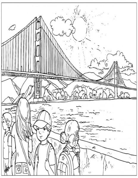 Dibujos Para Colorear Para Niños Lugares Del Mundo 1