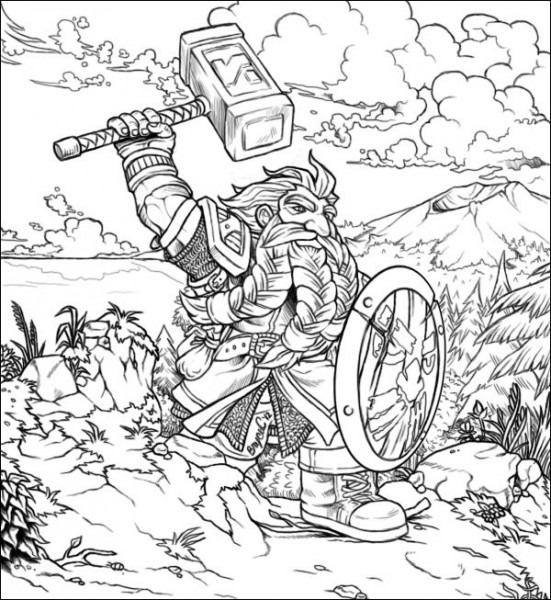 Dwarf On The March By Aibryce On Deviantart