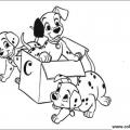 Dibujos 101 Dalmatas Para Colorear
