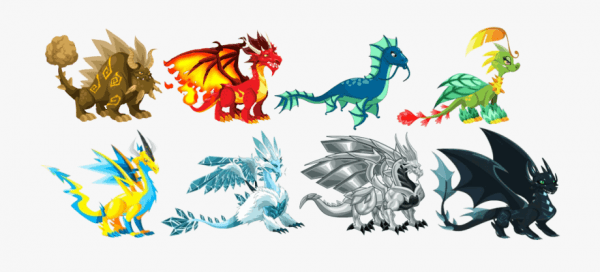 Dragon City Imagenes Para Colorear