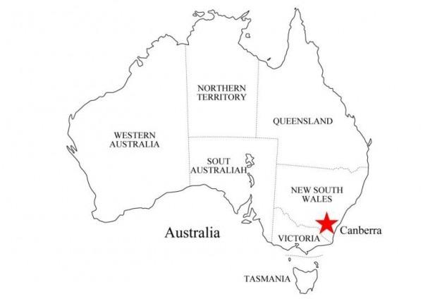Mapa Politico De Oceania Para Colorear Con Nombres – Pampekids Net