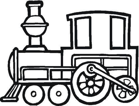 Dibujos Para Colorear De Trenes, Plantillas Para Colorear De