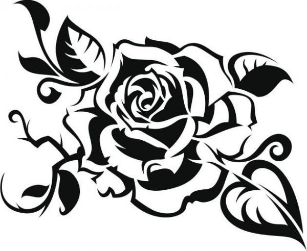 Dibujos De Rosas Para Colorear