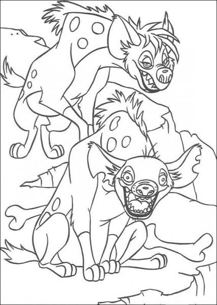 Dibujos Para Pintar Para Niños El Rey Leon 2
