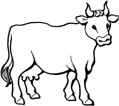 La Chachipedia  Vacas, Toros Y Bueyes Para Colorear