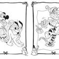 Imagenes De Navidad Para Colorear De Disney