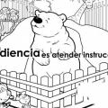 Imagenes De Obediencia Para Colorear