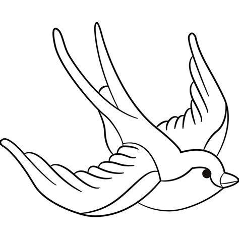 Dibujo De Golondrina Para Colorear Imagui Dibujos De Golondrinas