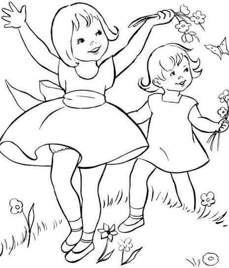 Dibujos Para Colorear  Fotos Dibujos Primavera