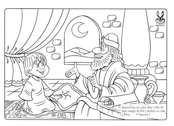 Me Aburre La ReligiÓn  Samuel Dibujos Para Colorear