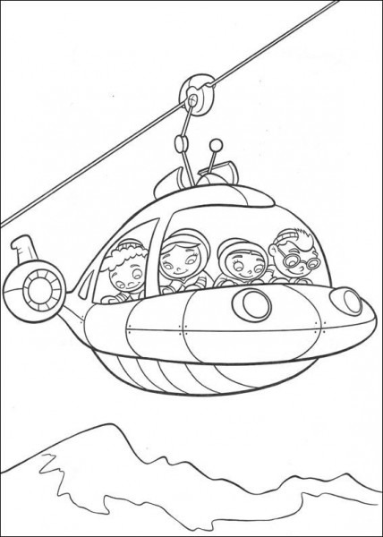Little Einsteins Coloring Pages 25