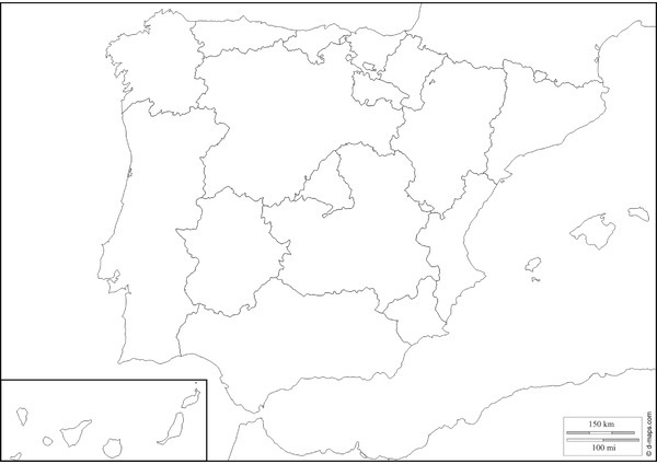 Mapas Didácticos De España