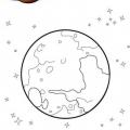 Imagenes Del Planeta Mercurio Para Colorear