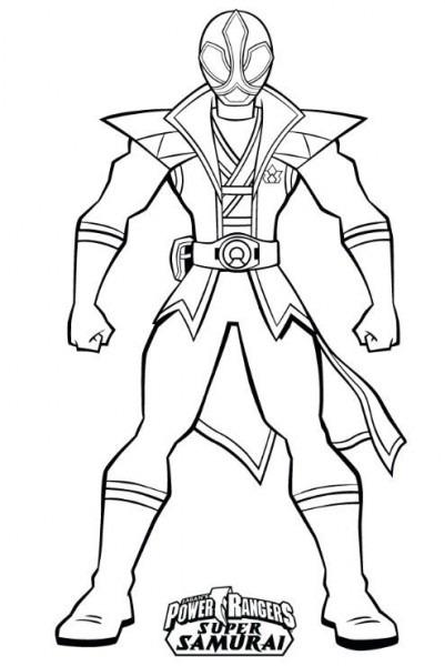 Dibujos De Los Powers Rangers Para Colorear