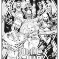 Dibujos De Escuadron Suicida Para Colorear